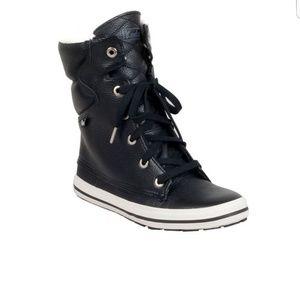 Keds Droplet Leather Black Boot